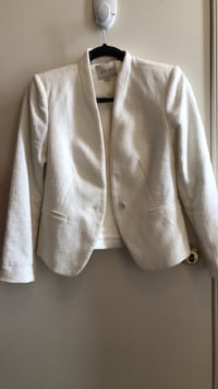 White Blazer from Loft, size 2 Petite  Arlington, 22203