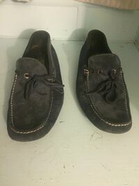 pair of black leather boat shoes Austin, 78704