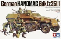 TAMIYA German Hanomag Model Kit !! Boston, 02131