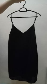 V Coller Black Dress 芽笼, 389566