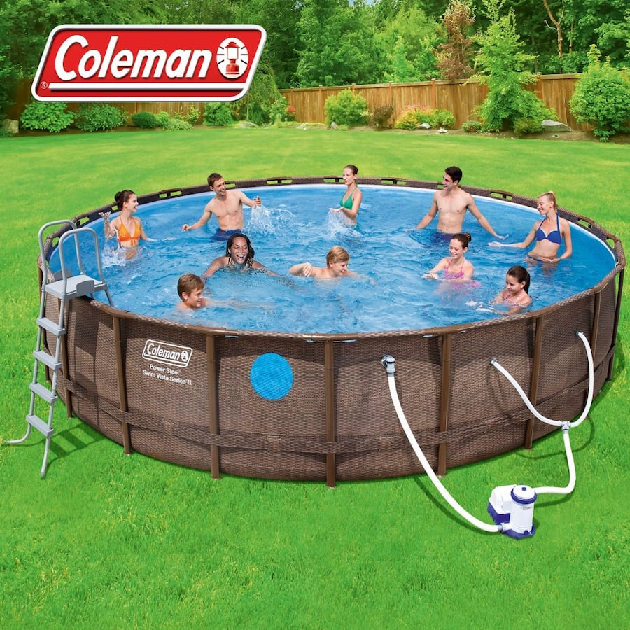 Coleman 18ft x 48in Pool 0