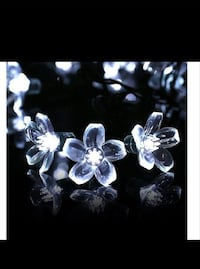 $18 NEW Solar Christmas Flower Lights, Cherry Blos