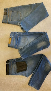 3 pair of men zara Jeans  Cambridge, N1P 0A7