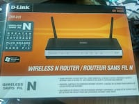 Dlink wireless n router  Kitchener, Ontario, N2B 2N9