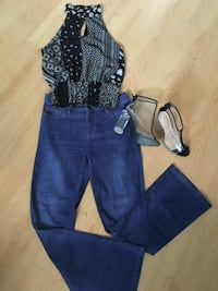 Jeans (4) shirt (sm) shoes (6)  Gatineau, J8Y 3M5