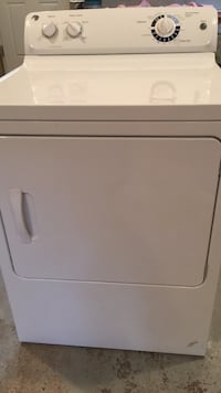 White front load clothes dryer 411 mi