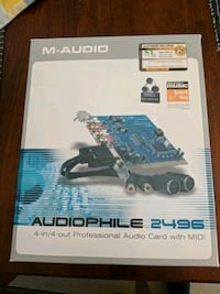 M-Audio 4-in/4-out Professional Audio card with MI Port Moody, V3H 3M4