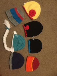 Crocheted Child Hats Comstock Park, 49321