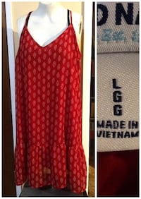 red and white long-sleeved dress Winnipeg, R2L 1H3