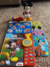 Mickey Mouse Toys, Puzzle & Books