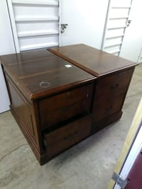 Solid wood filing cabinet  Houston, 77016