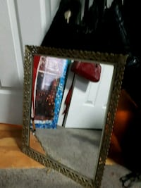 rectangular brown wooden framed mirror Oshawa, L1H 5S2