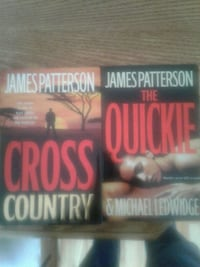 James Patterson hardcover books. $3.00 each or 2 for $5.00.