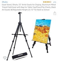 Brand New; Easel Tripod Stand
