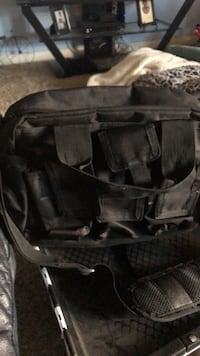 black and gray duffel bag Bakersfield, 93314