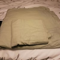 king size flannel duvet cover and 2 shams Barrie, L4N 0B2