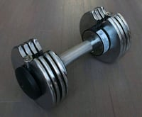 Dumbbell Adjustable from 10 to 40 lbs Toronto, M5V 0G6