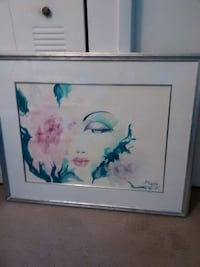 Watercolor picture from Puerto Rico