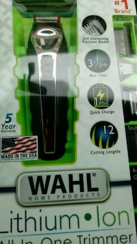 Wahl Lithium Ion Trimmer Montgomery, 36116