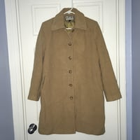MDP tan wool coat mid-length, size 6 Arlington, 22202