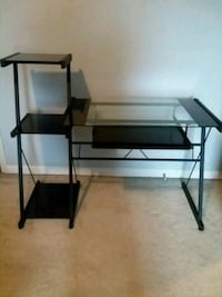 Nice metal and glass desk, pick up only Sheffield Lake, 44054