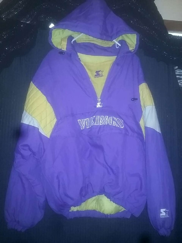 huge discount f887e fa3e3 Used VIKINGS,Vintage starter jacket for sale in Duluth - letgo
