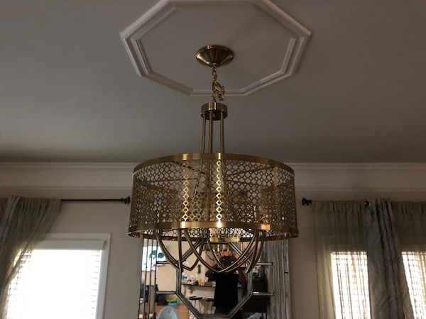 Used Progressive Lighting Chandelier