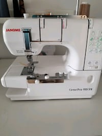 Janome Coverstitch Sewing Machine plus Accessories Innisfil, L0L 1W0