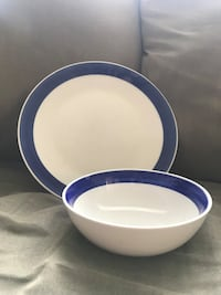 Bowl and large plate set Abbotsford, V2S 4A1