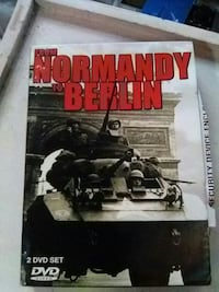 From Normandy to Berlin DVD case Holly Hill, 32117