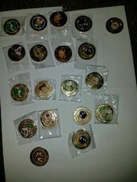 Super Mario metal coins