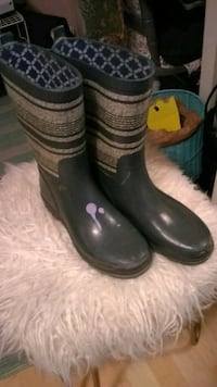 Great quality rubber boots size 6 and 1/2 see desc San Diego, 92105