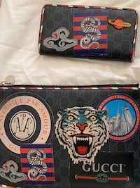 Gucci Pouch and Wallet set Washington