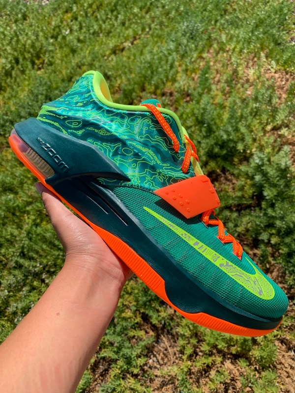newest a079d de745 Used Nike KD 7 Weatherman Basketball Shoes Size 13 for sale ...