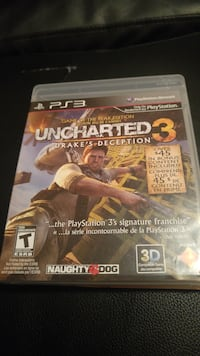 PS3 Uncharted 3 Drake's Deception casd Calgary, T3J 4A6