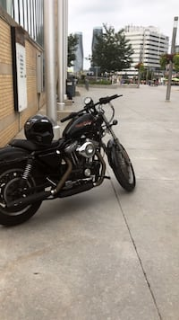 black and gray cruiser motorcycle Oakville, L6H 2R8