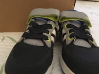 Pair of black-and-blue adidas sneakers Montréal, H4L 2X2
