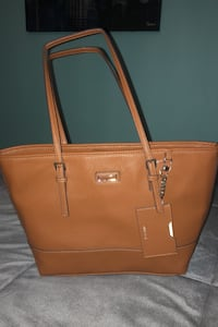 Nine West button closure tote