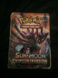 Pokemon Sun and Moon Trading cards some rare.