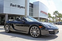 2016 Porsche Boxster Black Edition Fort Myers,