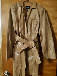 Express leather coat & pants  Cranston, 02920