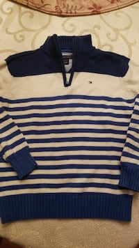 TOMMY HILFIGER YOUTH 6 ZIP SWEATER  Windham, 03087