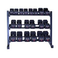 3 Tier Dumbbell Rack for Fixed Weight Dumbbells Gaithersburg, 20879
