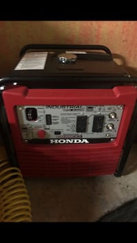 Red and black portable generator Pittsburg, 94565