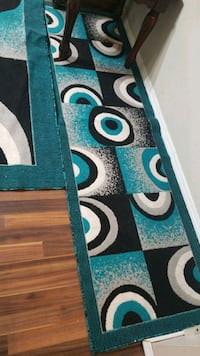 blue and white area rug Calgary, T2A 1L6
