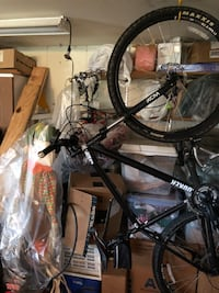 black and gray hardtail bike 24 km