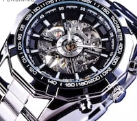 BRAND NEW MECHANICAL/AUTOMATIC WATCH-No Battery Required  Ajax