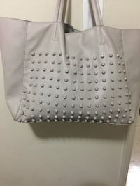 Steve Madden off white large shoulder bag worn once