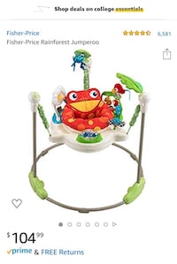 Fisher Price Jumperoo Gainesville, 32601