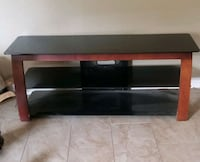 Glass TV stand! 56 inches X 21 Littlerock, 93543
